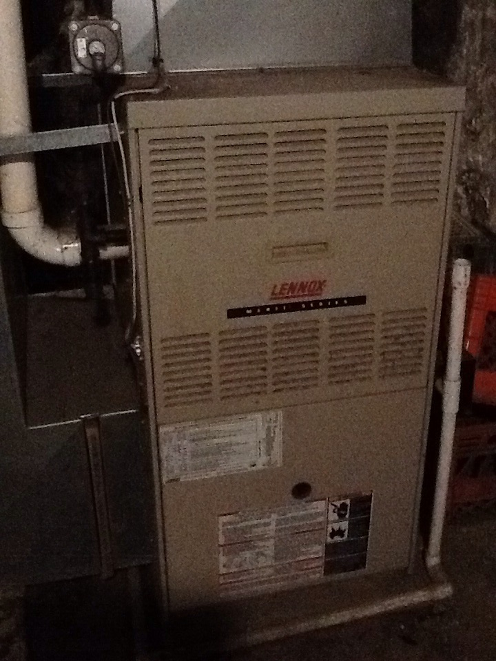 Rochester, PA - Replace blower motor and capacitor on a Lennox furnace.
