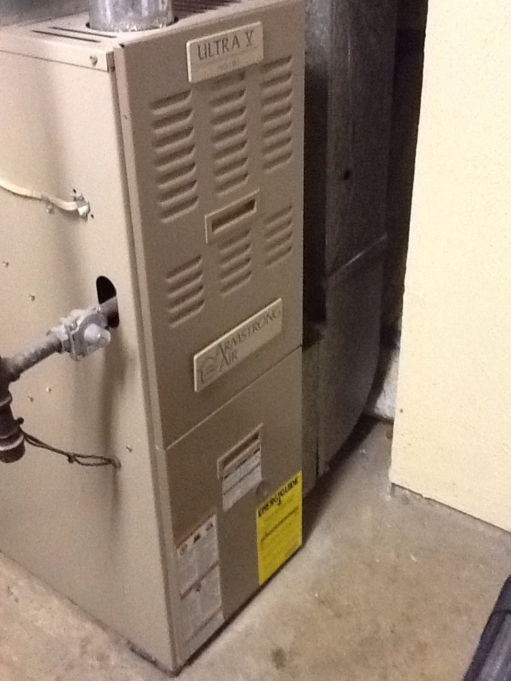 Braddock, PA - Flat rate no heat call on an Armstrong furnace.