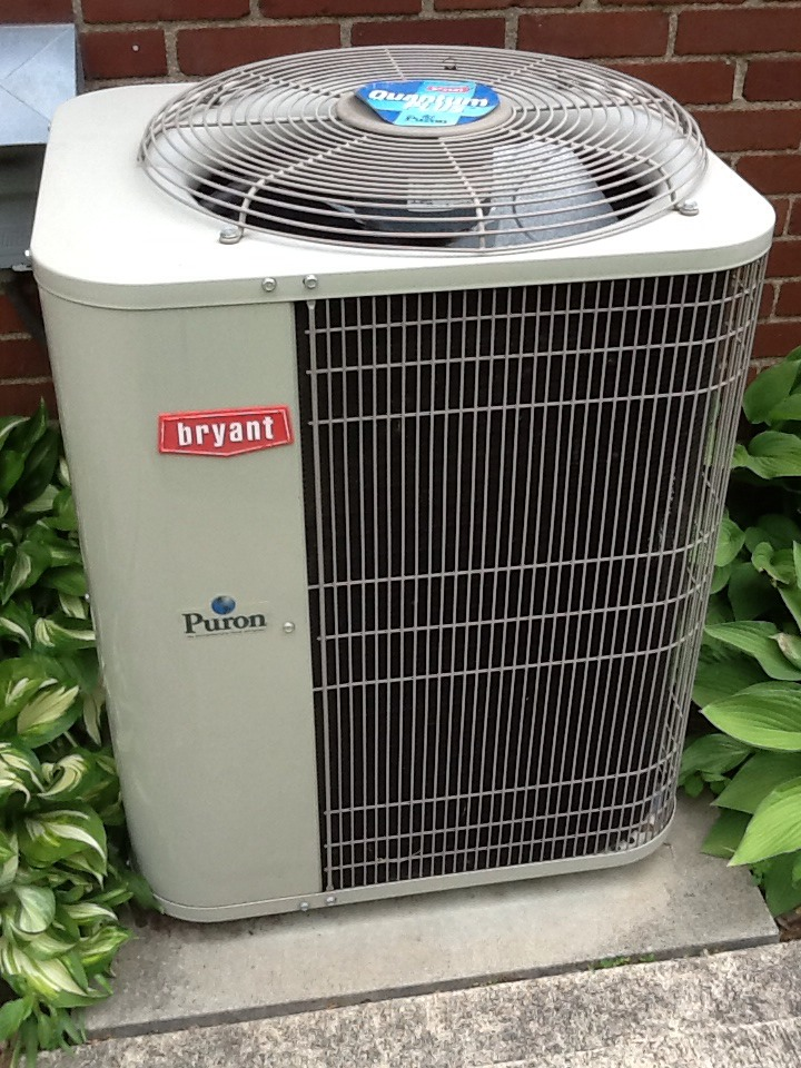 Verona, PA - Signature Agreement cooling check up on a Bryant air conditioner.