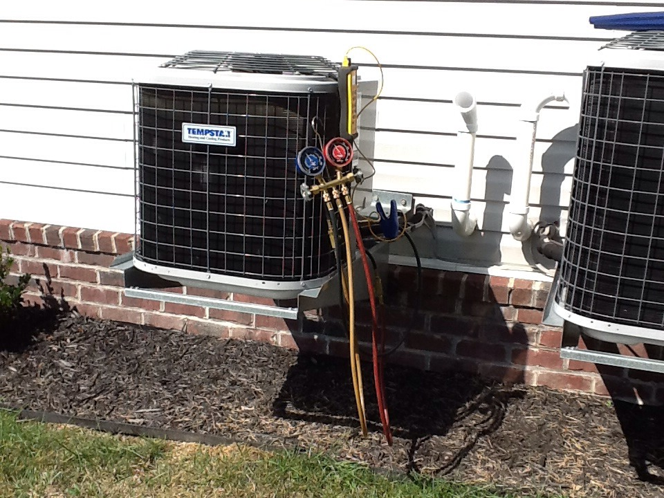 Beaver Falls, PA - Replaced a failed ECM motor and control, then checked AC operation.