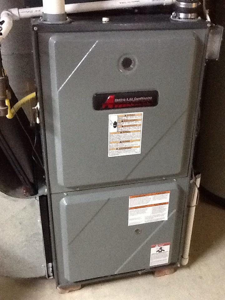 Finleyville, PA - No heat on an Amana furnace.