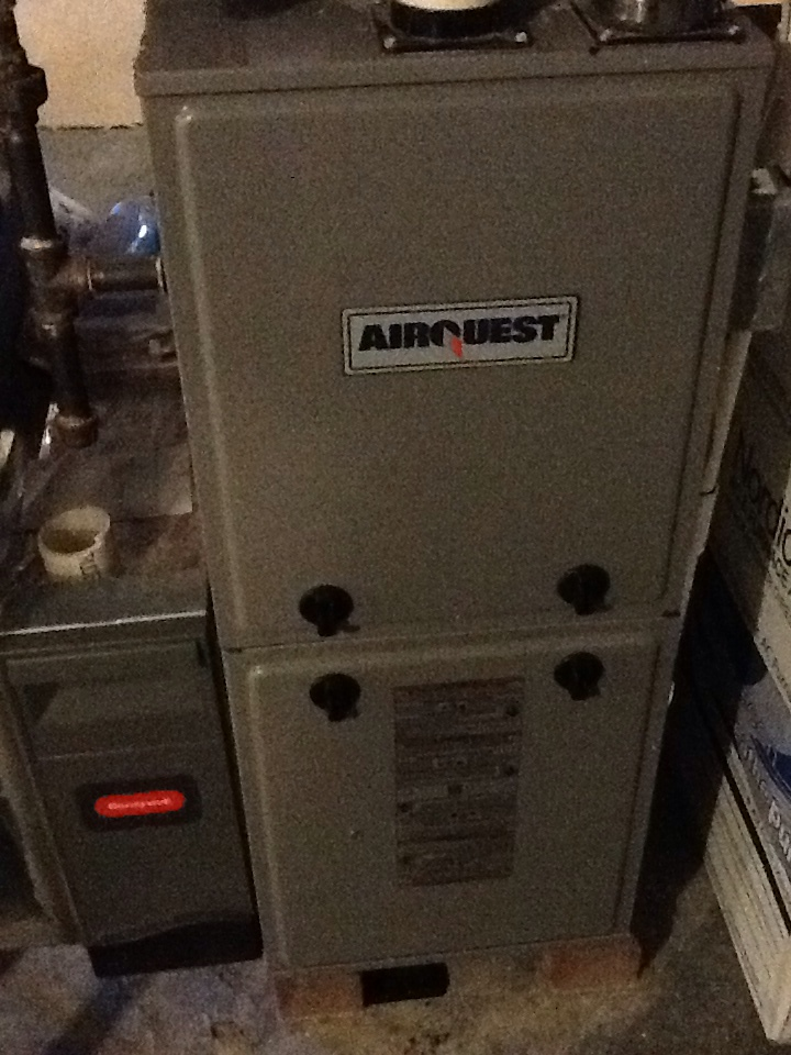 Valencia, PA - Flat rate no heat call on an Airquest furnace.