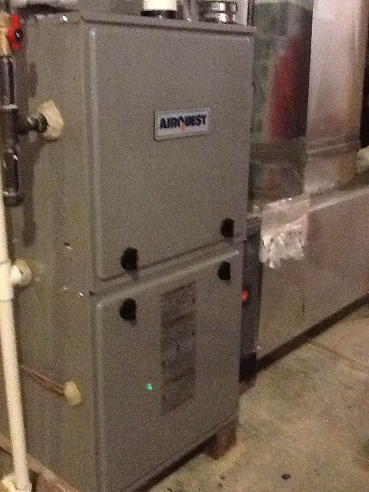 Valencia, PA - Replace pressure switches on an Airquest furnace.