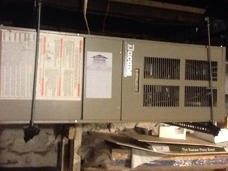 Verona, PA - No heat call on a Ducane furnace.