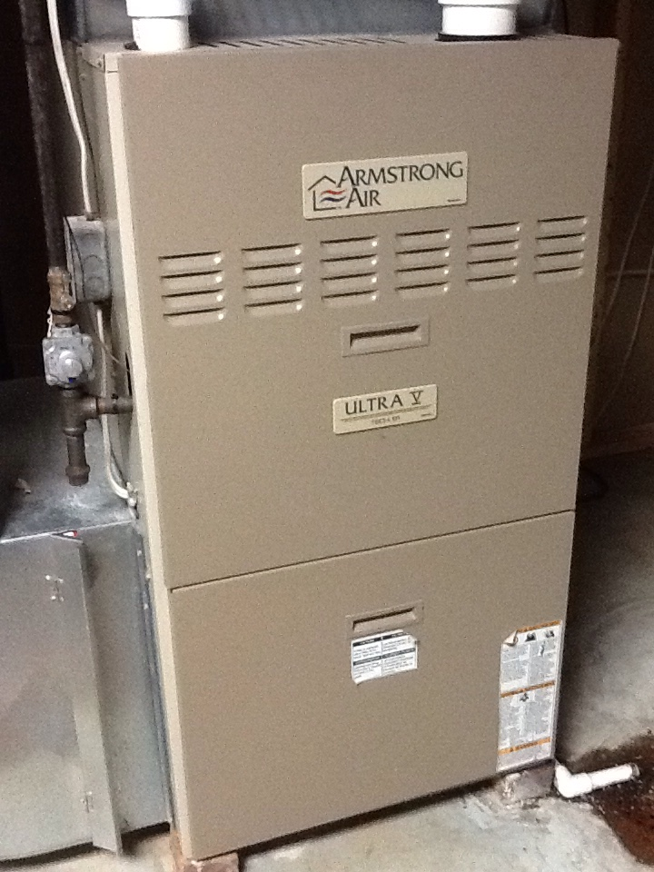 Cheswick, PA - Replace inducer and pressure switch on an Armstrong furnace.