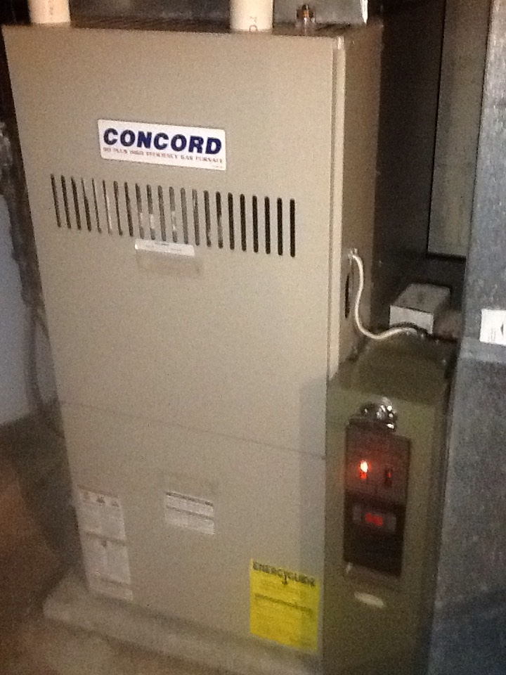 Aliquippa, PA - Plus agreement heating check up on a Concord furnace.
