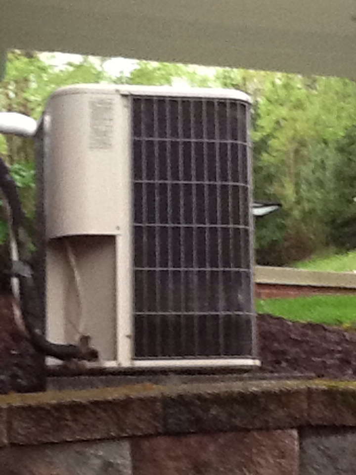 Pittsburgh, PA - Plus agreement cooling check up on a Lennox air conditioner.