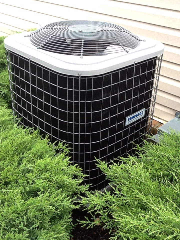 Oakdale, PA - Plus agreement cooling check up on a Tempstar air conditioner.