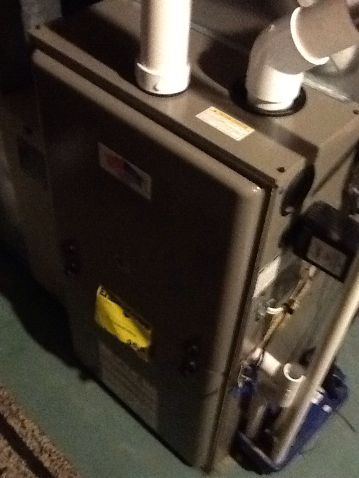 Pleasant Hills, PA - Plus agreement heating check up on a Boehmer furnace.