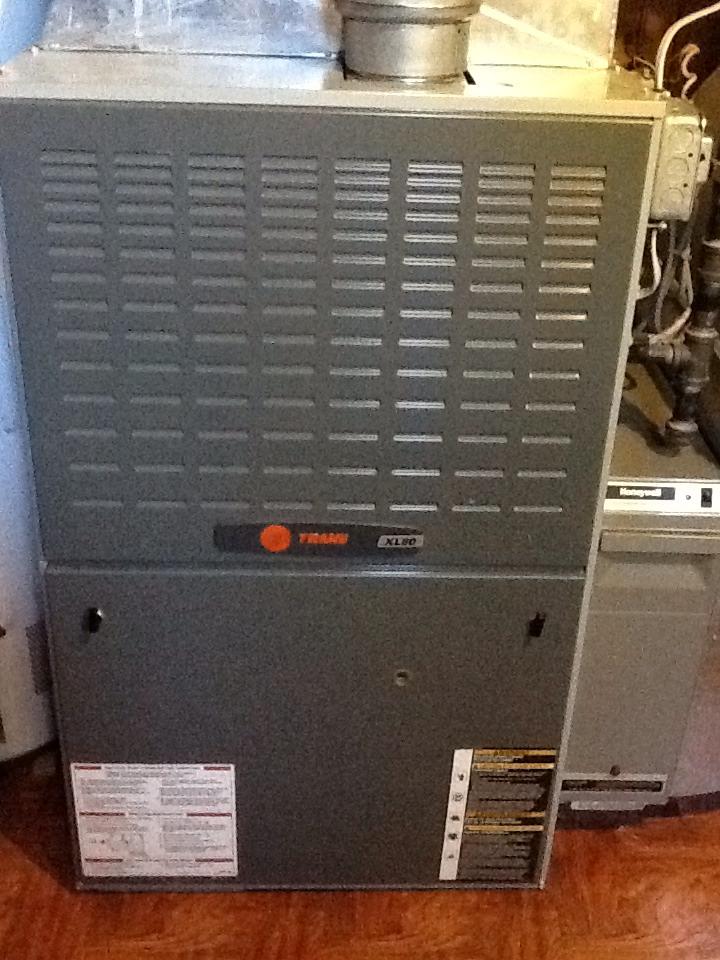 Pittsburgh, PA - Trane furnace signature service agreement.
