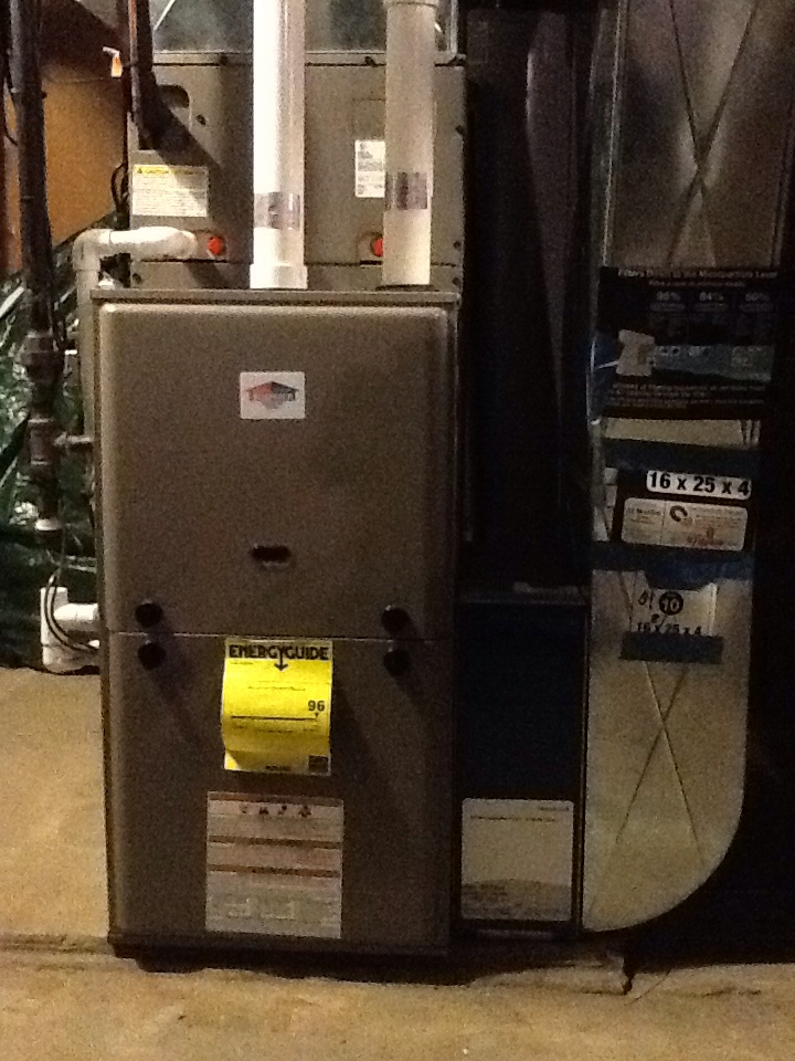 Pittsburgh, PA - Check & service furnace on Boehmer furnace. Repaired gas leak at furnace.