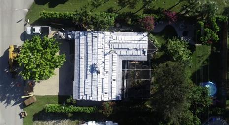 Boca Raton, FL - Replacing current concrete tiles with Bel Air Concrete Tiles, along with installing 30lb felt and polyglass underlayment.