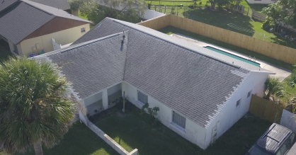 Orlando, FL - After inspecting the clients home we identified areas of their roof that have been damaged as well as the moisture damage that stemmed from the leaks in the roof. We'll have it taken care of in no time and get to replacing the damaged asphalt shingles with new asphalt shingles in the matching color.
