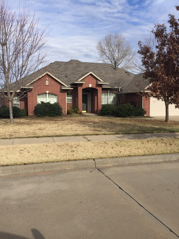 Norman, OK - This house is now equipped with the GAF Armor Shield 2 shingle, which can discount your insurance premium.