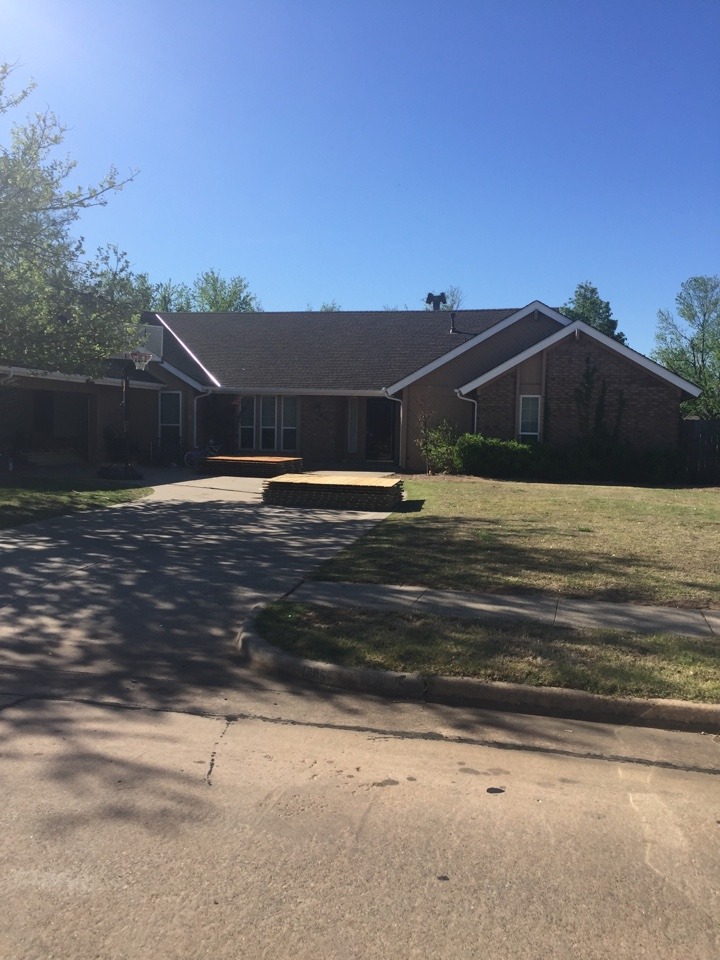 Norman, OK - Roofing Windows gutter and fencing