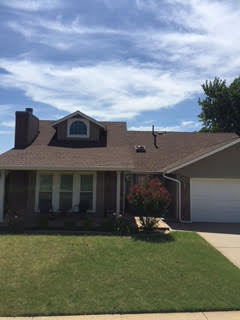 Oklahoma City, OK - This Exterior Portfolio siding by Crane was a great choice for this customer in Oklahoma City, Ok.