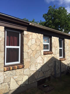 Del City, OK - This customer in Del City, OK chose white windows by Window Mart.