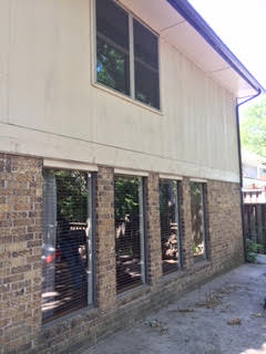 Oklahoma City, OK - We installed these windows for a customer in Oklahoma City, OK.  The clay color was a great choice.