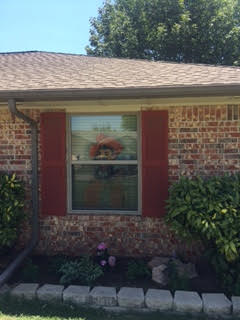 Oklahoma City, OK - This OSU fan had clay colored windows installed to help accent his house in Oklahoma City, OK.