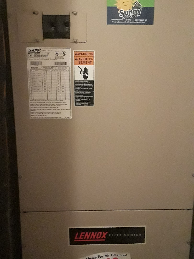 Fort Worth, TX - Heat tune up on a Lennox furnace