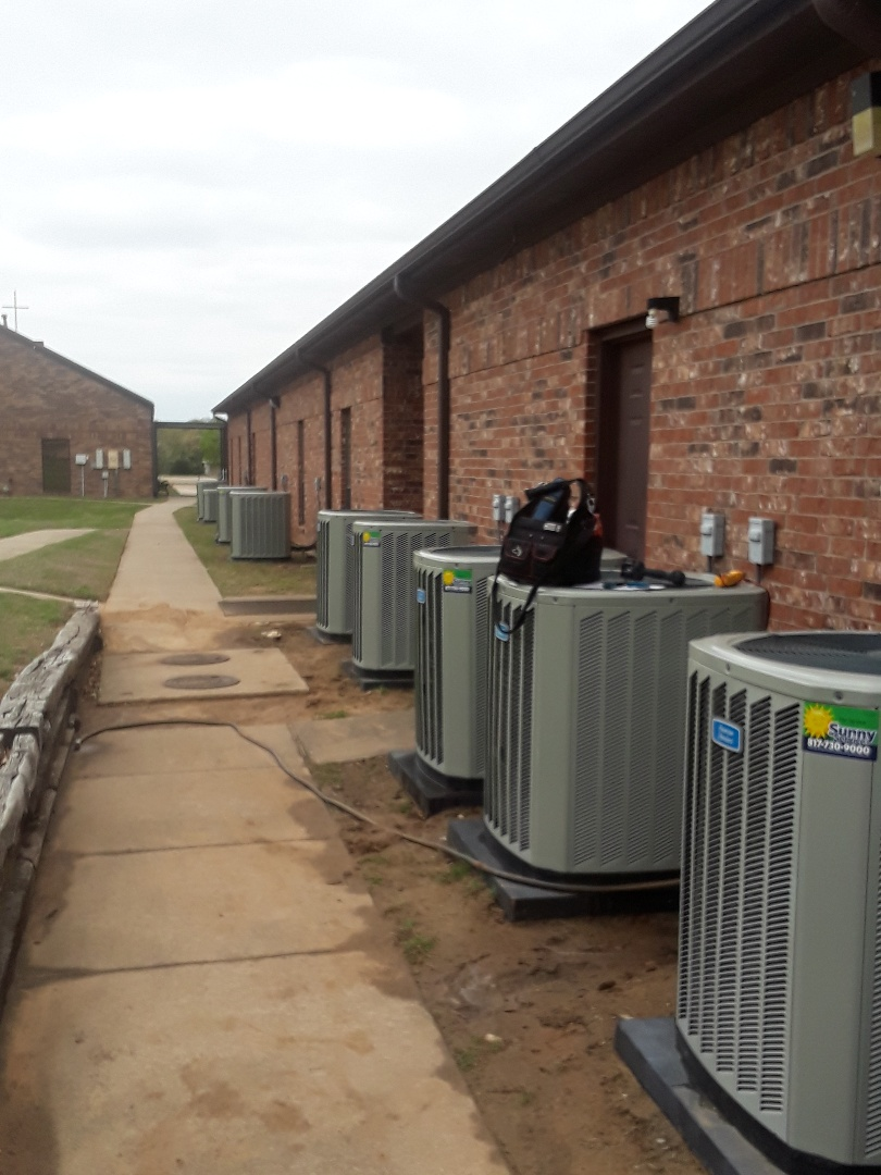 Flower Mound, TX - Commercial air conditioning maintenance