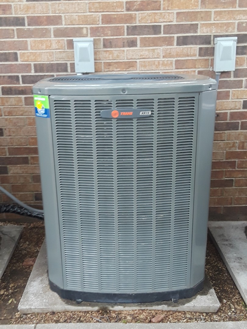 Flower Mound, TX - Ac tune up on a Trane system