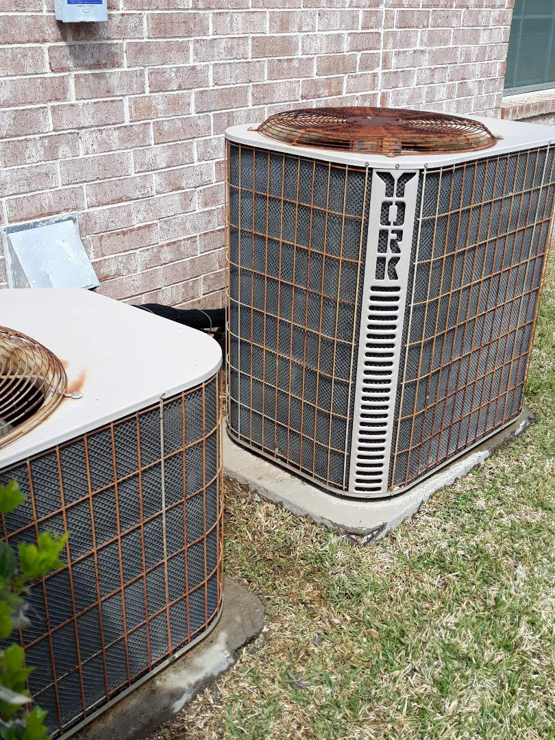 Fort Worth, TX - 2 system AC tune up on York systems