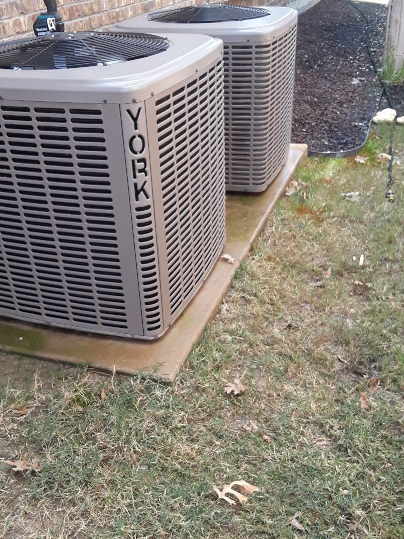 Colleyville, TX - Ac tune up on a York system