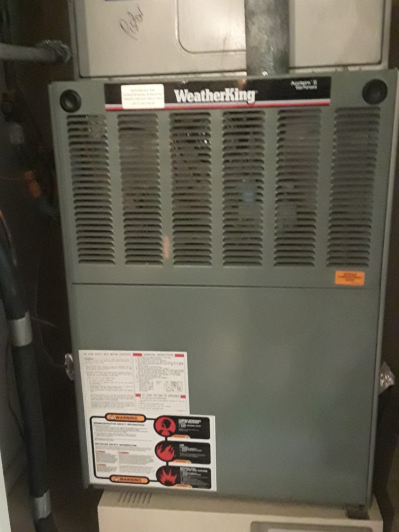 Euless, TX - Ac repair on a Weather King system
