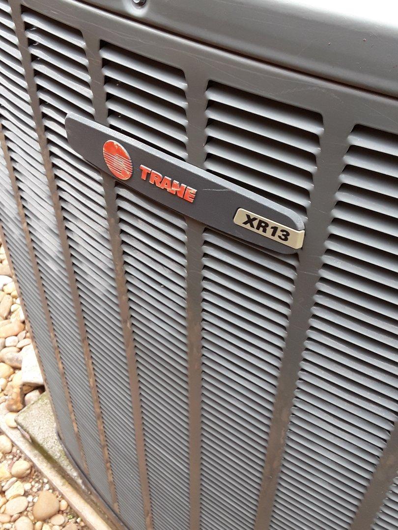 Grapevine, TX - Evaporator leak chexk for a Trane system