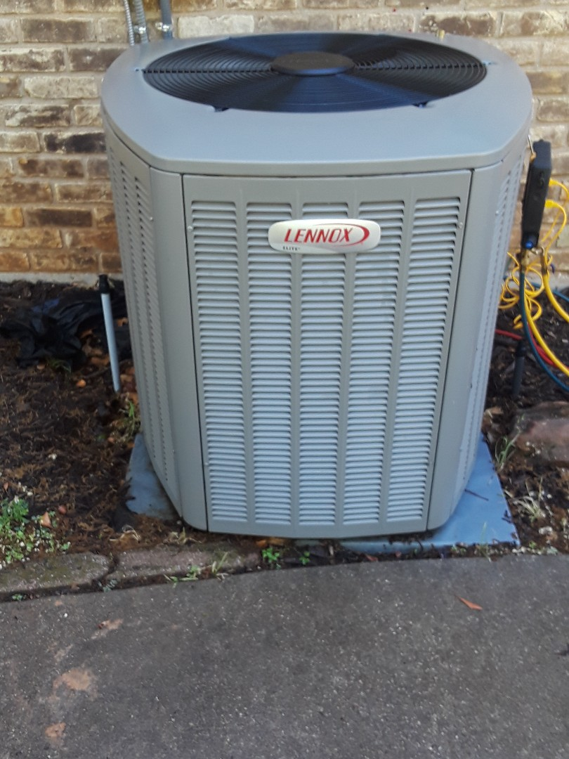 Keller, TX - Ac tune up on a Lennox system