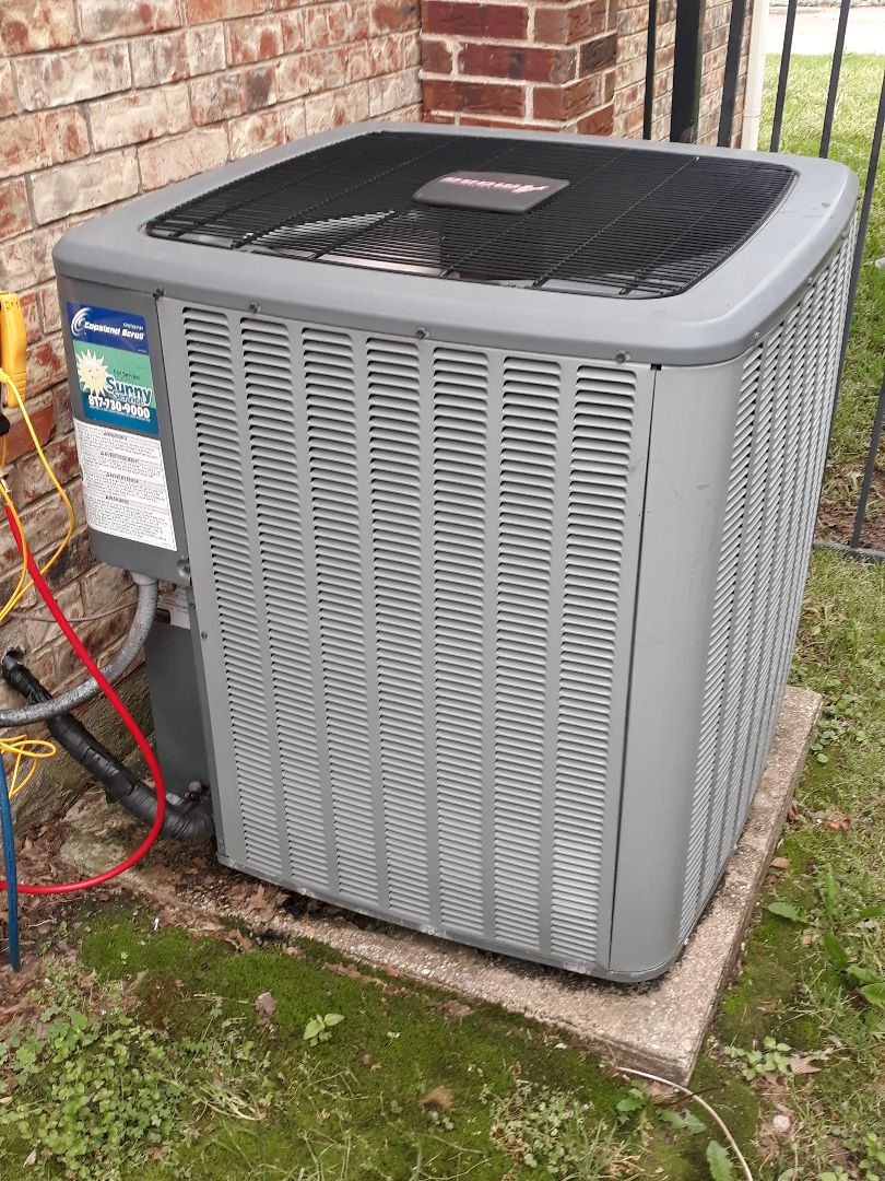 Grand Prairie, TX - AC Maintenance on an Amana system