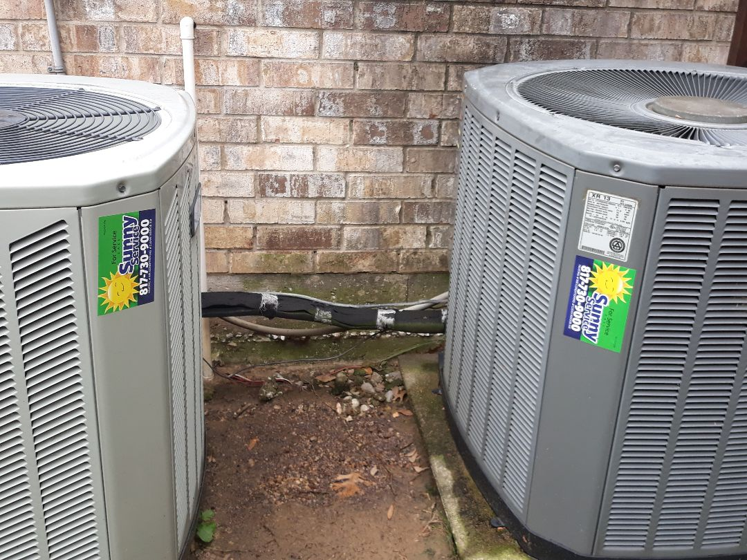 Lewisville, TX - Diagnostic and tune ups on Trane/American Standard.