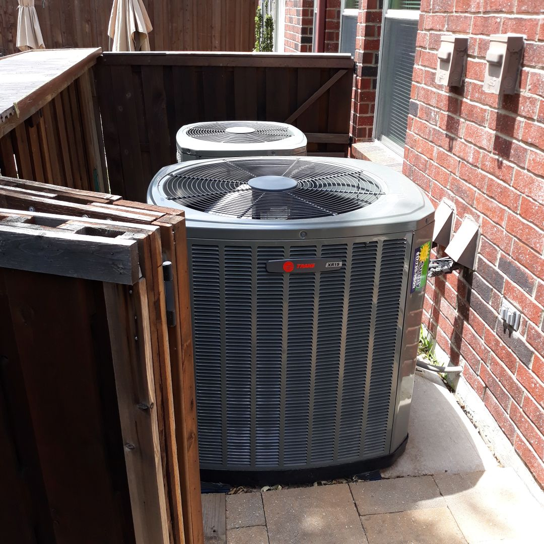 Euless, TX - Air conditioner not cooling service call for trane system