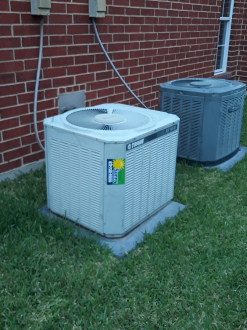 Fort Worth, TX - Ac not cooling service call on a Trane
