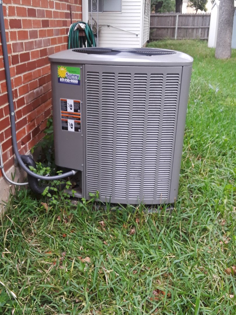 Irving, TX - Ac tune up on a Lennox system