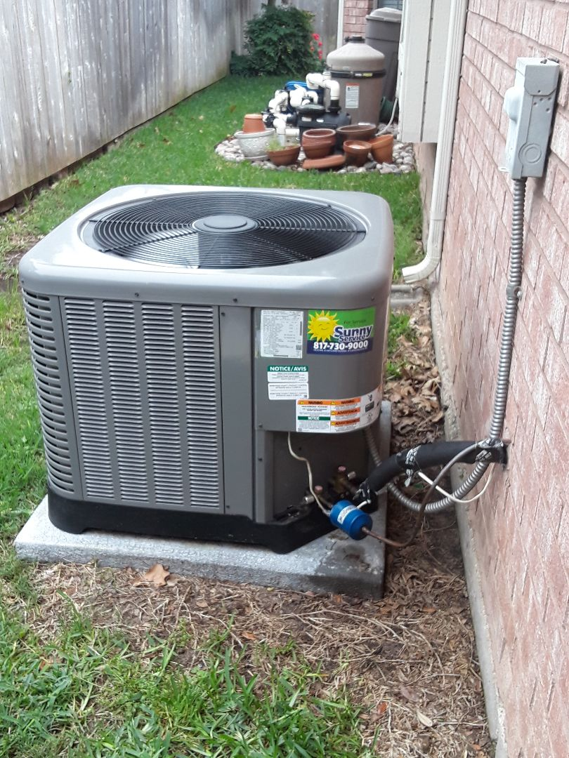 Irving, TX - Ac tune up on a Lennox