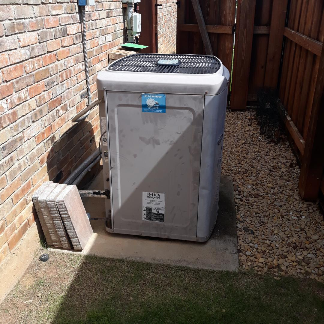 Bedford, TX - Ac tuneup on carrier heat pump system