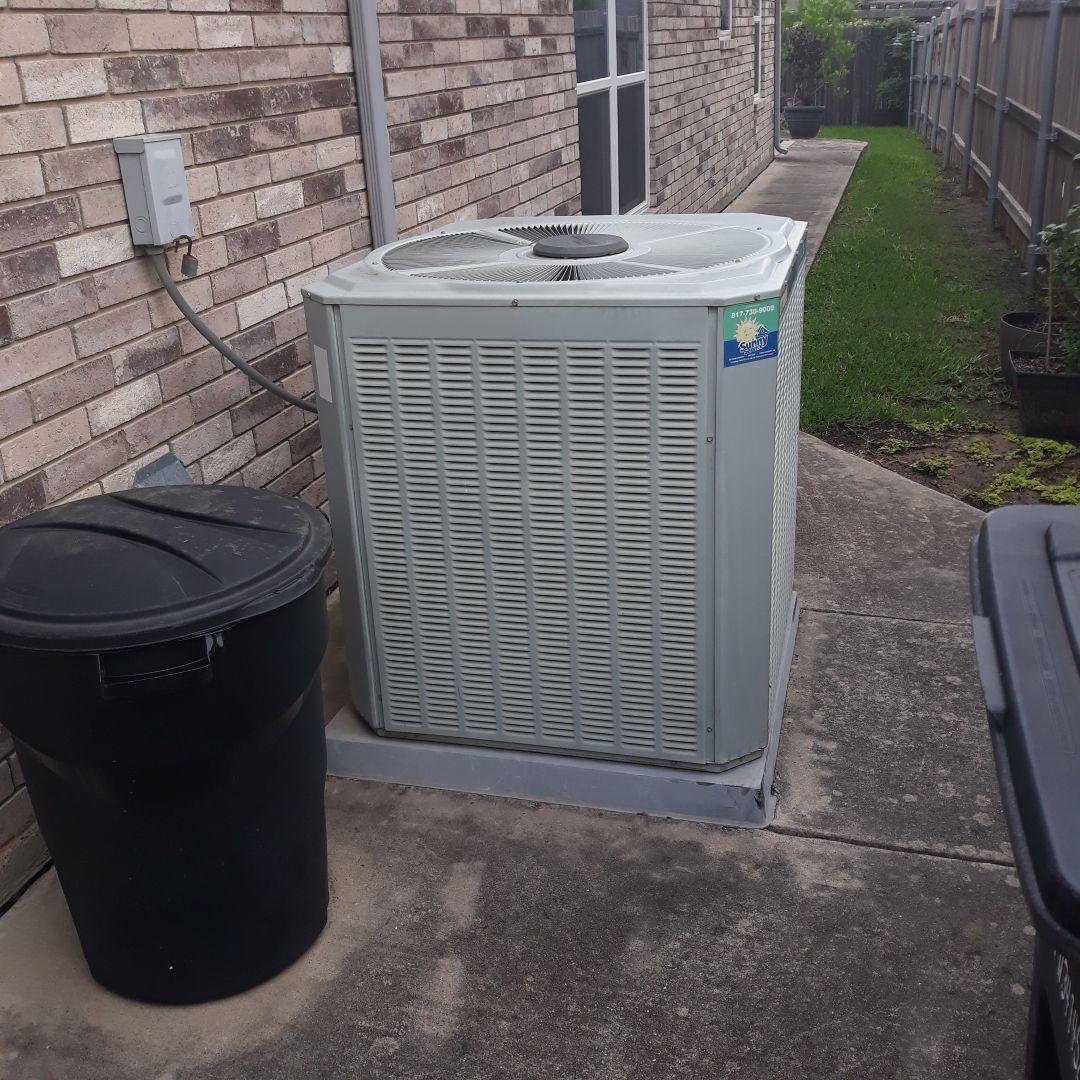 Hurst, TX - Ac tune up on trane heat pump system