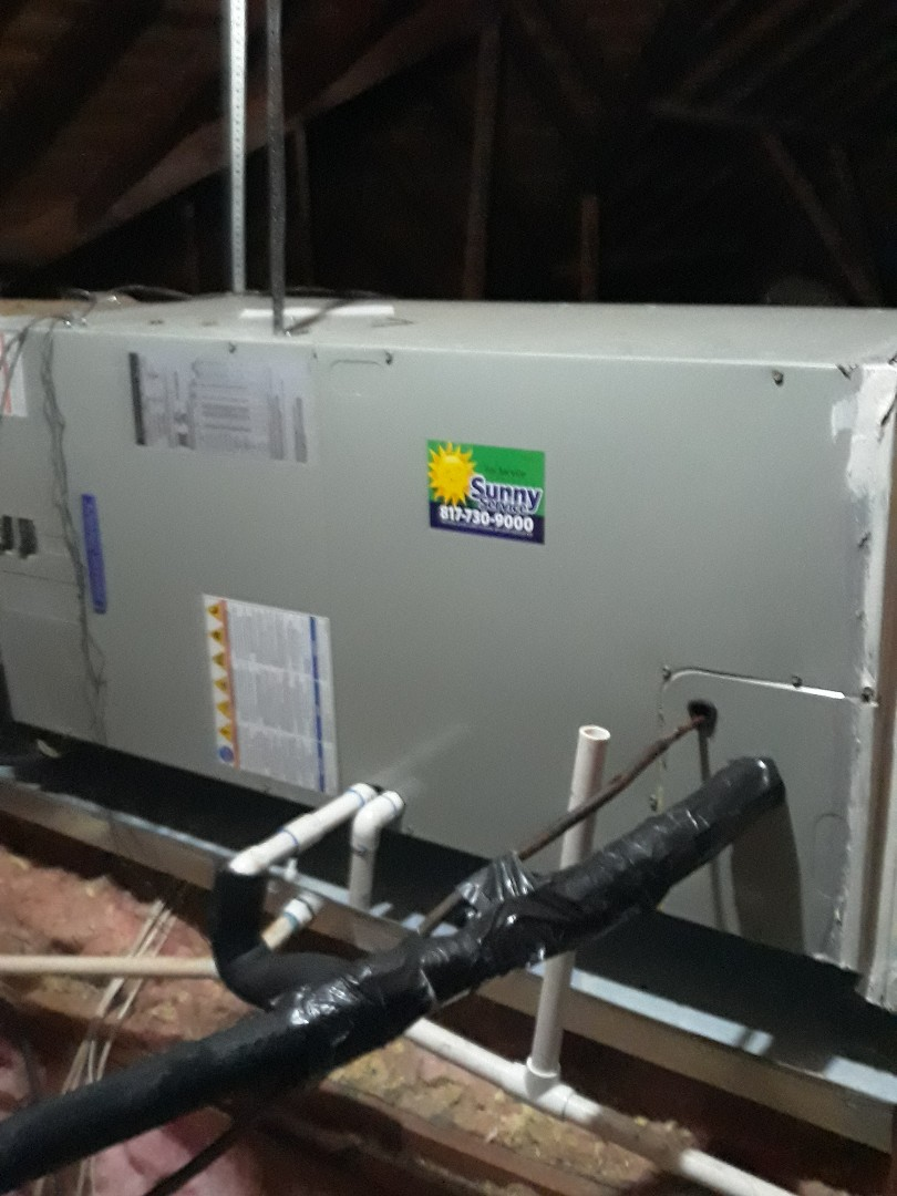 Colleyville, TX - Ac tuneup on American Standard Heat pump system