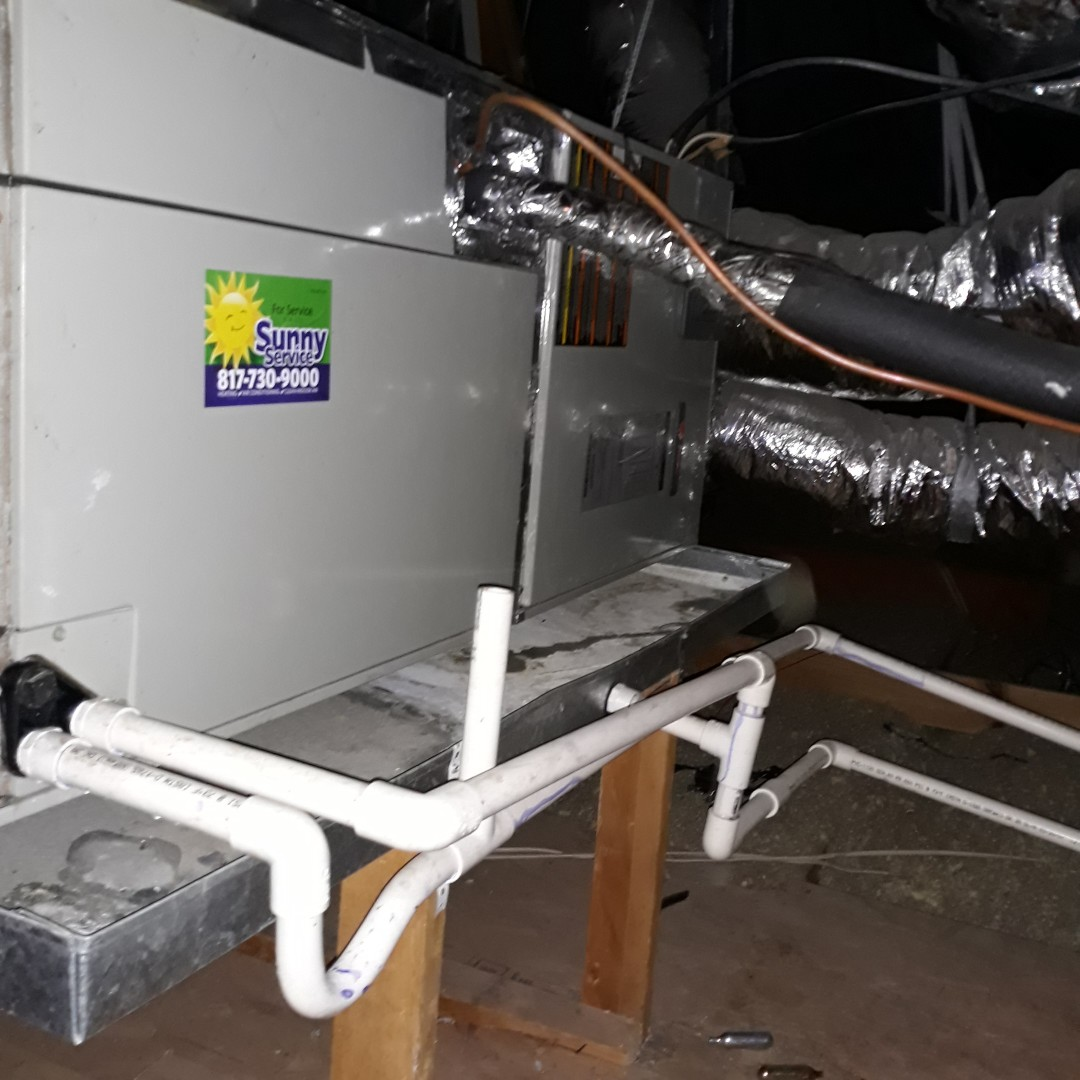 Colleyville, TX - Ac tuneup on American Standard system