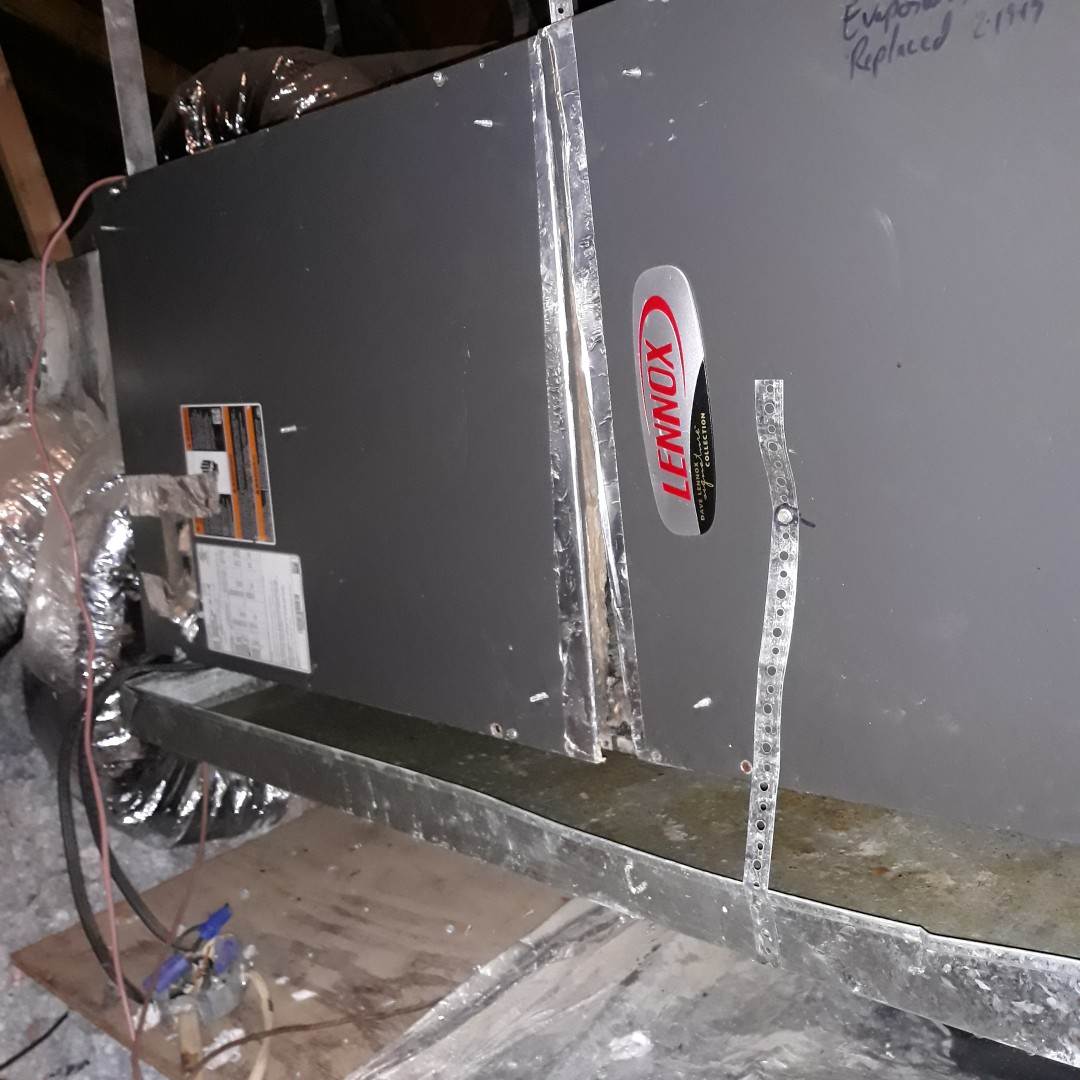 Keller, TX - Ac not cooling service call for Lennox system