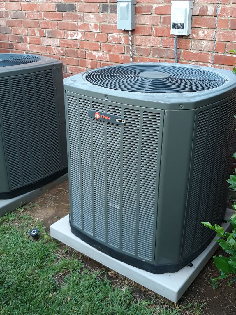 Grapevine, TX - Tune up and maintenance on Trane systems.