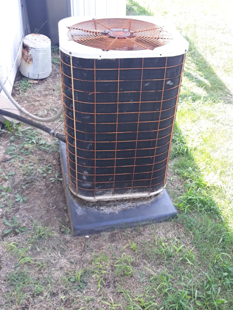 Fort Worth, TX - Air conditioner repair on a Nordyne.