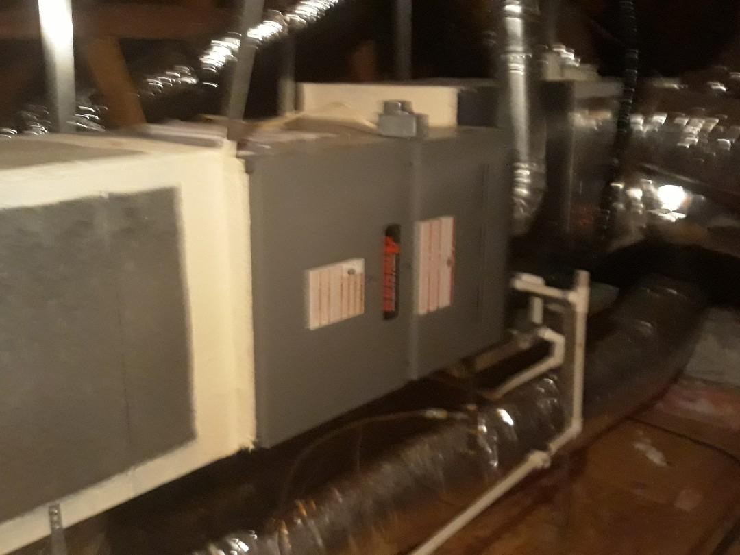 Bedford, TX - Heater maintenance on Amana Gas Furnace