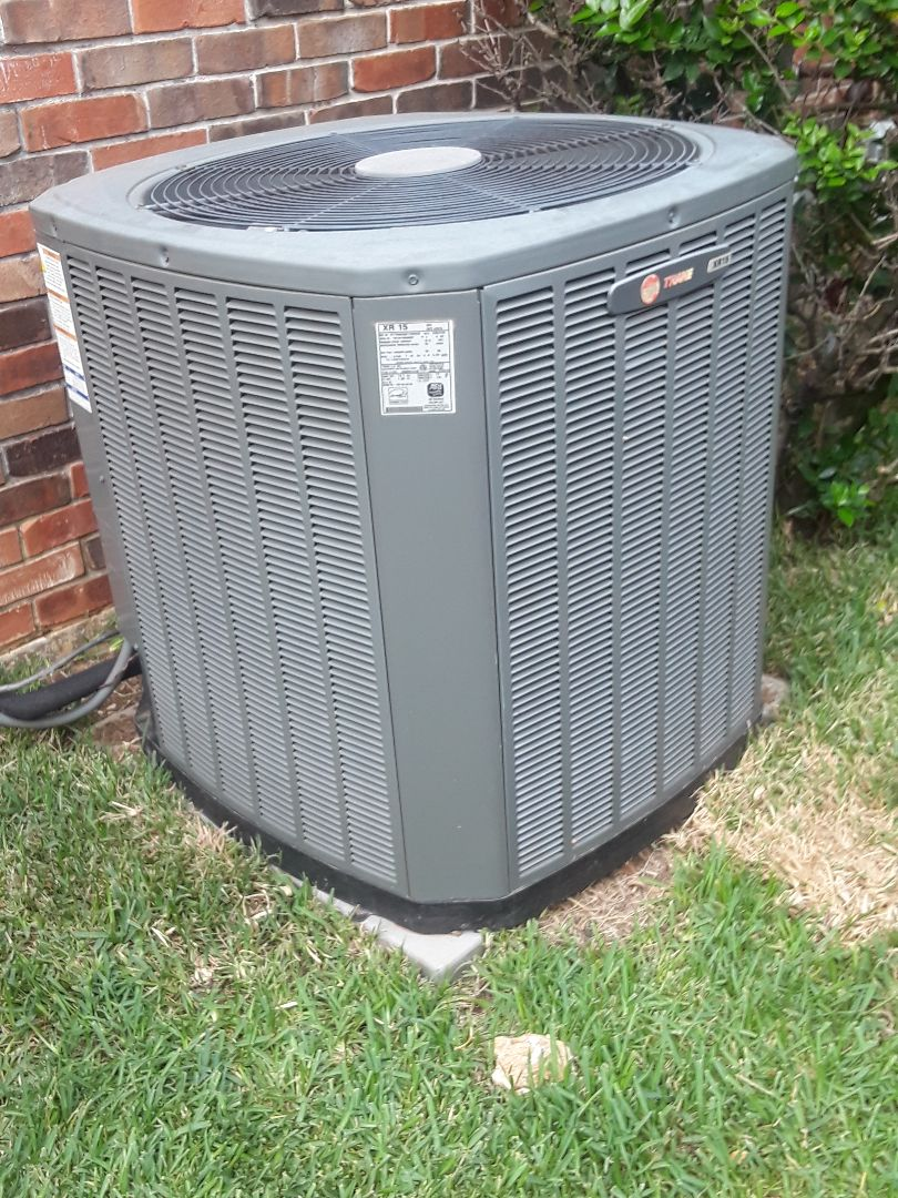 Colleyville, TX - Ac repair on Trane condenser