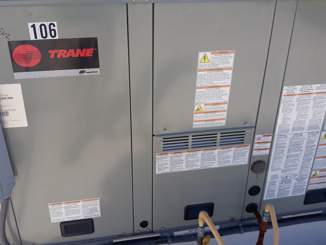 Hurst, TX - Heater tune up and maintenance on a Trane.