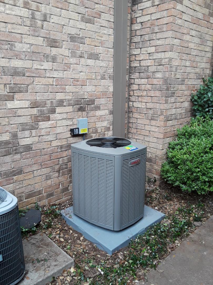 Arlington, TX - Replace complete Lennox 16seer heat pump