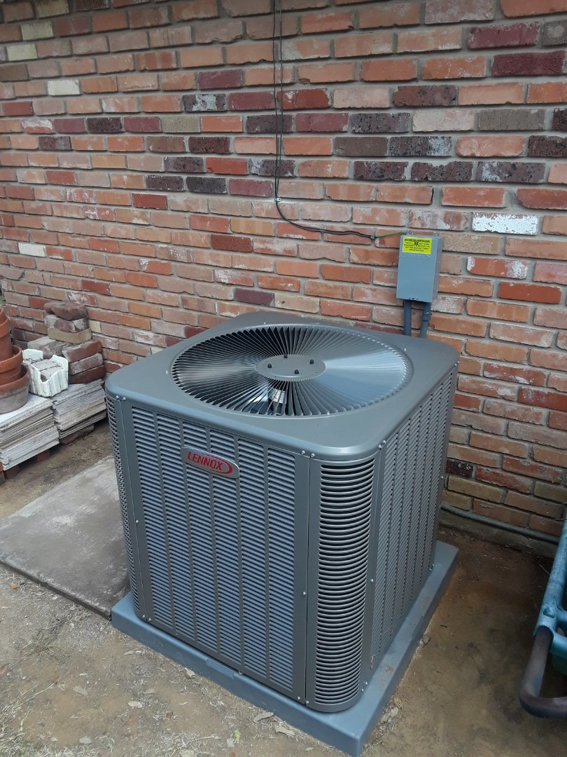 lennox 4 ton condenser. arlington, tx - install new 4 ton lennox system condenser gas furnace and coil