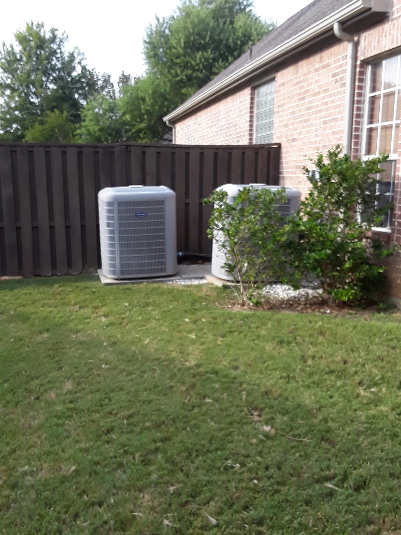 Southlake, TX - Provided options for a new Lennox system.
